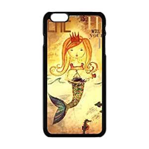 "Fayruz - Cover/Design Case For IPhone 6 5.5"" TPU Rubber Gel - Mermaid Girl"