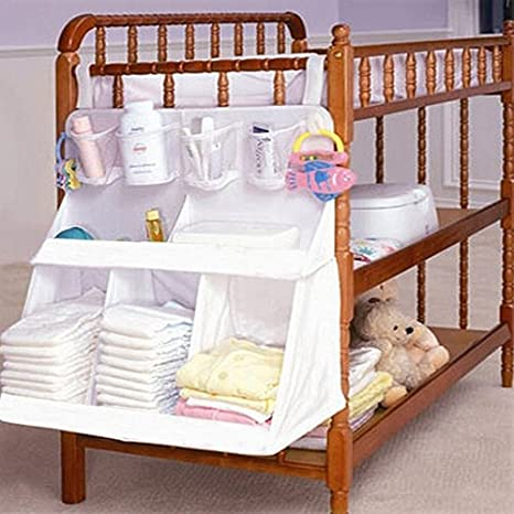 562f030cf607 Amazon.com: Foldable Storage Bags - Baby Cot Crib Bed Hanging ...