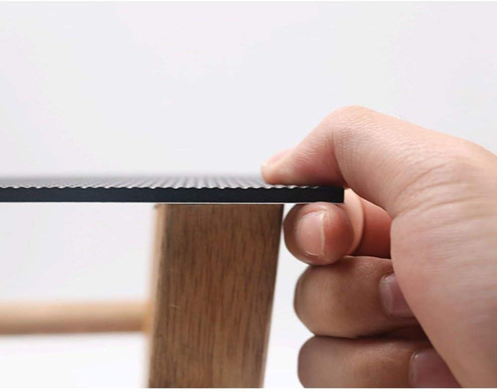 Protecteurs de plancher anti-d/érapants Shinecozy prot/ègent les planchers de bois brut et stratifi/é Round 27mm EVA