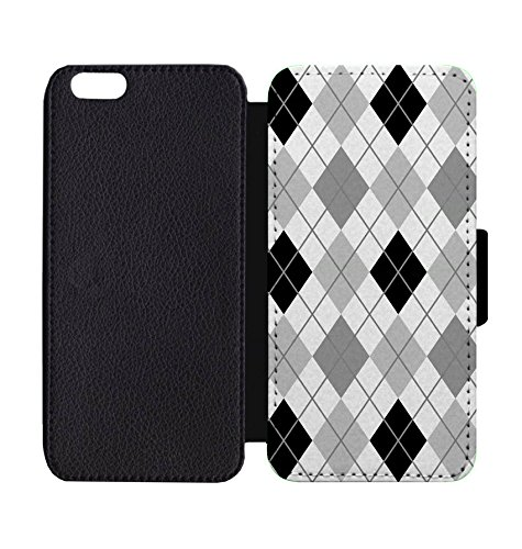 Wallet Phone Case Argyle Print for iPhone 6 / 6S