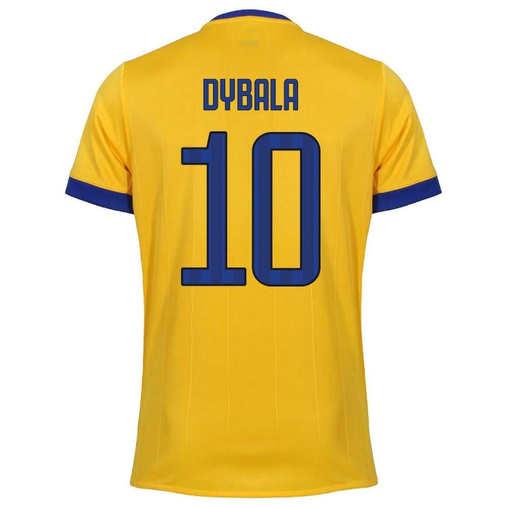 Juventus Away Dybala Jersey 2017 / 2018 (ファンスタイル印刷) B0754865F9Large