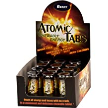 Atomic Tabs Chewable Energy - Berry - 6 Serving Containers (Pack of 12)