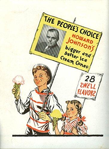 Johnsons Cream Howard Ice (Howard Johnson's Ice Cream / New Haven Railroad More Trains to NY ad 1940)