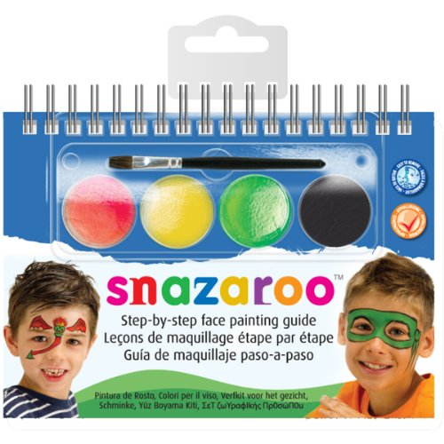 Reeves Snazaroo Step by Step Face Painting Kit, Monsters and Heroes -