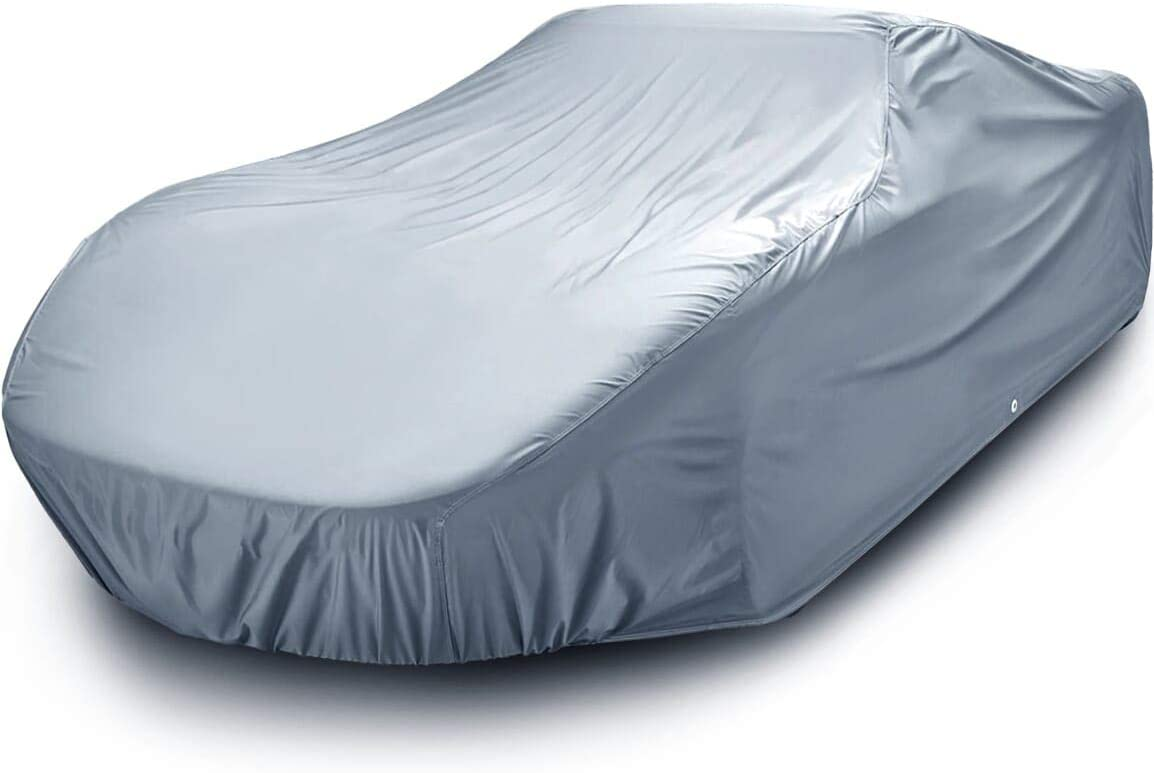 iCarCover Fits. [Porsche Cayman] 2014 2015 2016 2017 2018 2019 Waterproof Custom-Fit Car Cover