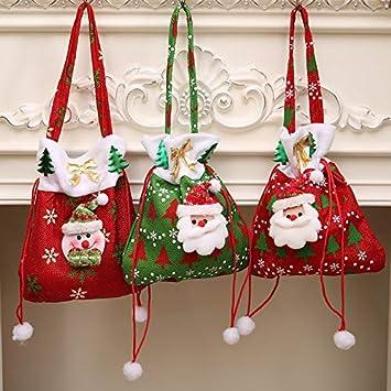 2019 Weihnachten.Amazon Com Weihnachten Santa Claus Xmas Bags 2019 New Year Gift