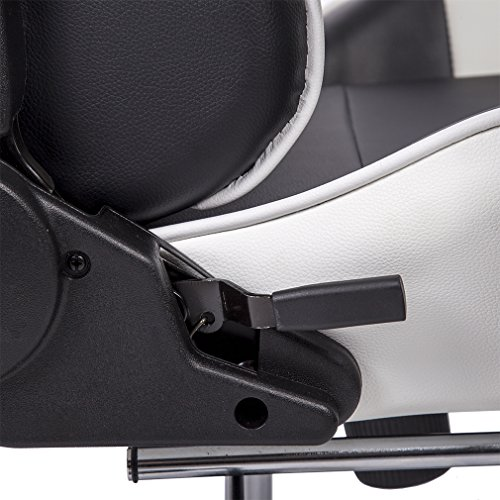 Office Chair High-back Recliner Office Chair Computer Chair Ergonomic Design Racing Chair by BestOffice (Image #7)