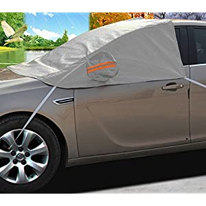 A-Express Car Windscreen Windshield Window Mirror Protector Frost Cover Ice Snow Shield