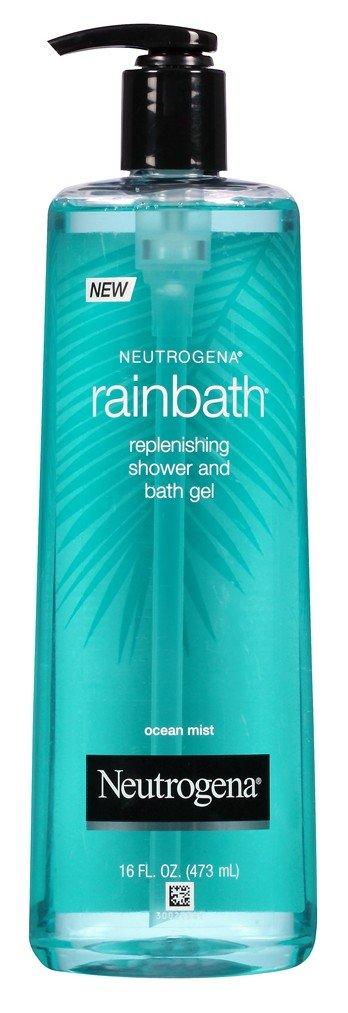 Neutrogena Rainbath 16 Ounce Ocean Mist Shower & Bath Gel (473ml) (3 Pack)