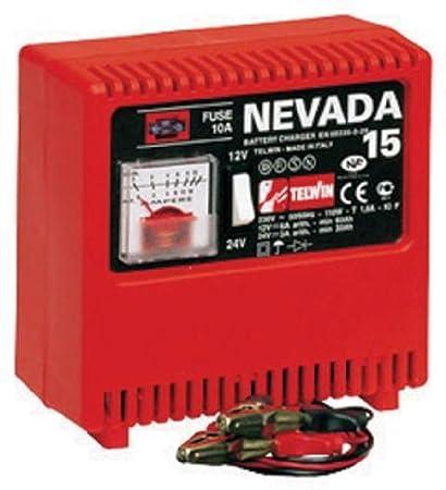 Telwin Nevada 15 Cargador Para Baterías 12-24 V 9A Con ...