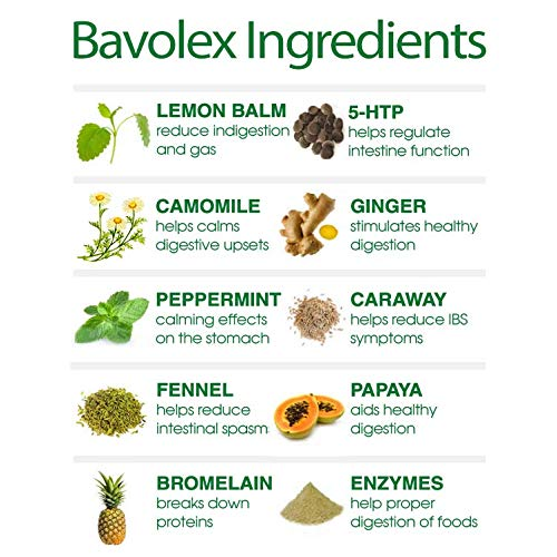 Amazon.com: IBS relief- bavolex irritable Bowel syndrom (IBS ...