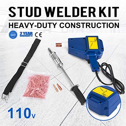Mophprn Welder Stud Starter Kit 800 VA Spot Stud Welder Dent Puller Kit Electric Stud Welder Kit for Auto Body Repair by Mophorn (Image #1)
