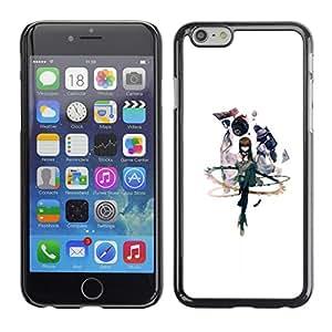 A-type Arte & diseño plástico duro Fundas Cover Cubre Hard Case Cover para iPhone 6 (abstracto)