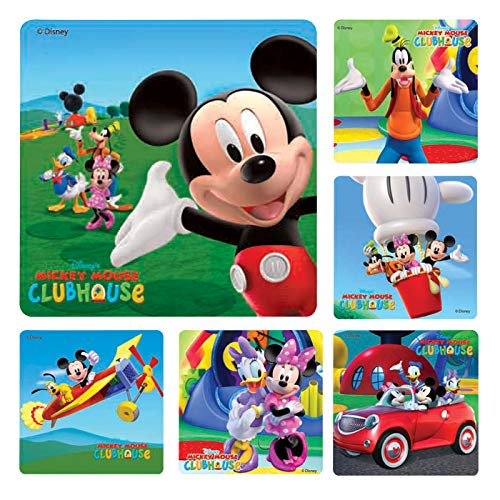 Kids Stickers Character - Mickeymouse Clubhouse Stickers 100 per roll