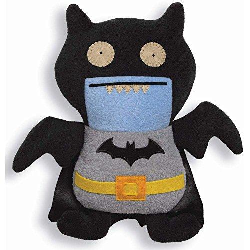 Uglydoll Dc Comics Black Ice Bat As Batman