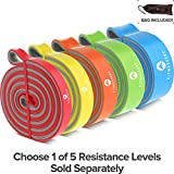 Pull Up Bands – Pull Up Assistance Bands – Long Resistance Bands – Fitness Bands – Exercise Band – Strength Bands – Pull Up Resistance Bands – Pull Up Band – Yellow – Tension: 30 to 60 lb