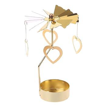 Xurgm Herz Metall Gold Kerzenhalter Für Kegel Kerzen Eisen Dünne Metall  Moderne Tisch Dekorative Herzstück Elegante