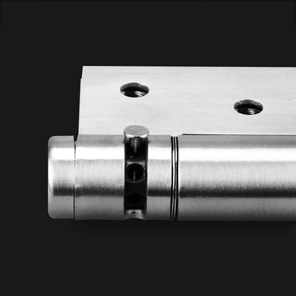 Color : A 4x3inch Spring Hinge Door Closers Closed Door Positioning Speed 10x8.2cm FRBQ Concealed Closer Automatic Adjustable Door Closers 0422