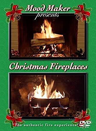 Amazon.com: Christmas Fireplaces DVD - Includes Christmas Music Option and Bonus Fireplace: Fireplace: Movies & TV