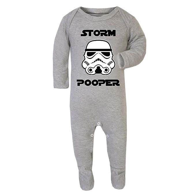 Original Stormtrooper Storm Pooper Baby and Toddler Romper ...