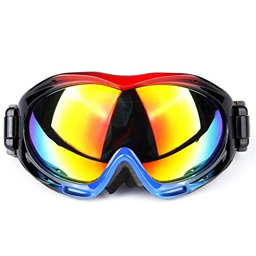 [Y-H Unisex Men Women Windproof Uv Profession Ski Sports Goggle Sunglasses-C2] (Infant Racing Halloween Costume)