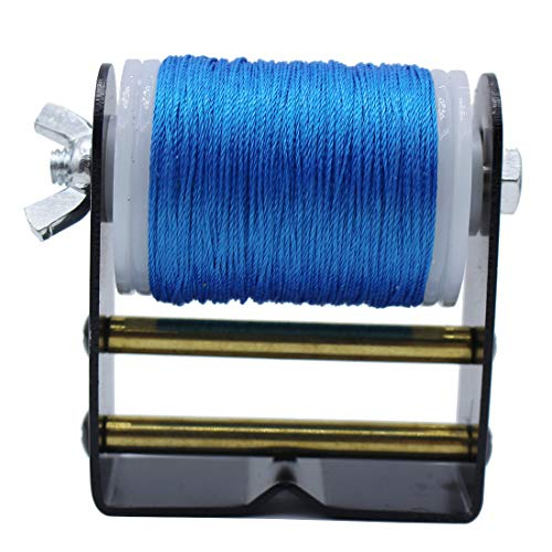 "HRCHCG Archery Bowstring Serving Thread Jig 120Meter / Roll 131 Yard 0.02"" Winder Anti-Wrestling Bow String Winder Tool Equipment Bowstring Serving Recurve Bow Compound Bow"