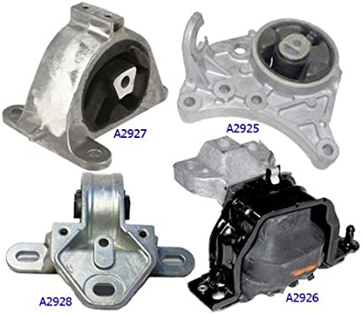 4pc Motor Mount fit Chrysler Town and Country 01 02 03 04 05 06 07 2WD 3.3L 3.8L