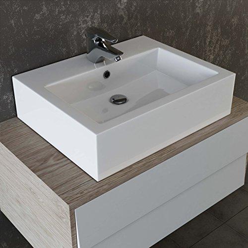 Vilstein C Keramik Waschbecken Aufsatz Waschbecken Hangewaschbecken