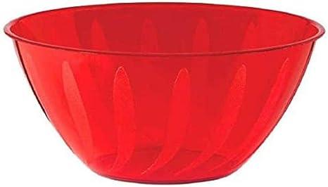 Red Swirl Bowl