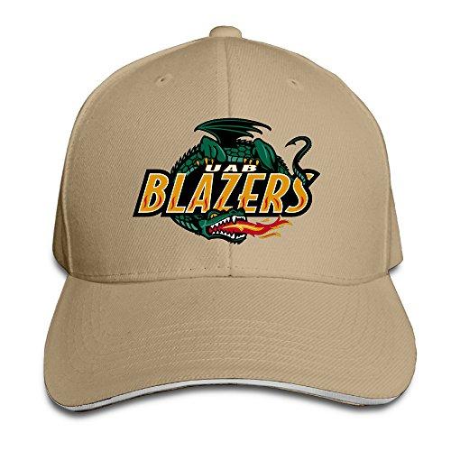 Summer Sandwich Bill Cap UAB Blazers Primary Logo Snapback Hat