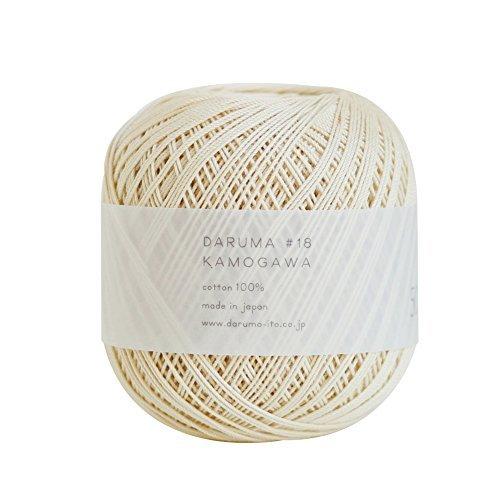 Lace yarn Kamogawa # 18 50 g 175 m Col.102 3 ball set 2052 by Yokota