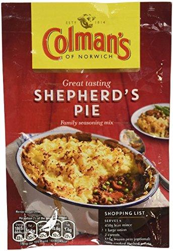 Colman's Shepherd's Pie Sauce Mix (50g) - Pack of (Shepherds Pie)