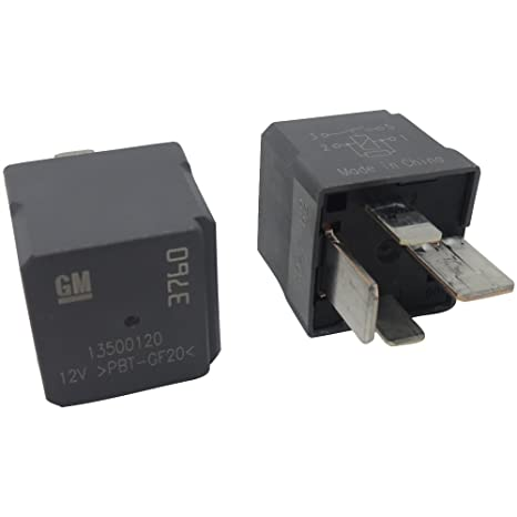 New OEM GM 4-Pin Relays (2 Pack) 13500120