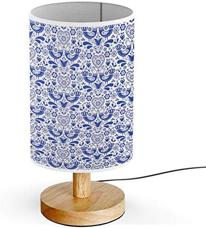 Folk Art Lamp