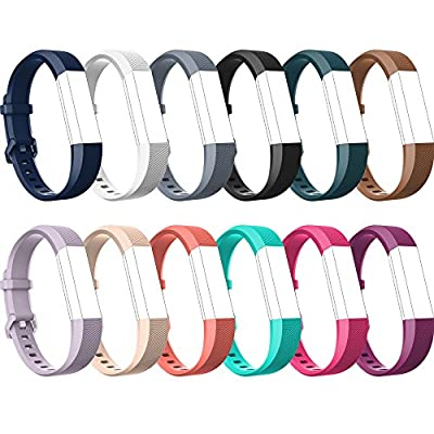 Fitbit Alta HR Bands-Fitbit Alta Bands-over 12 Colors Small Large,RedTaro Adjustable Replacement Accessory Bands/Straps/Bracelet for Fitbit Alta HR-Fitbit Alta for Women/Men(no Fitbit Fitness Tracker)