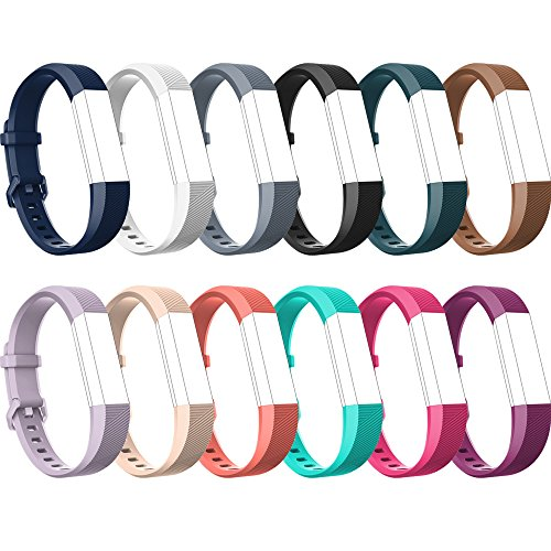 RedTaro Fitbit Alta HR Bands,Fitbit Alta Bands,12 Colors,Small  Large,Replacement Bands for Fitbit Alta Fitbit Alta HR