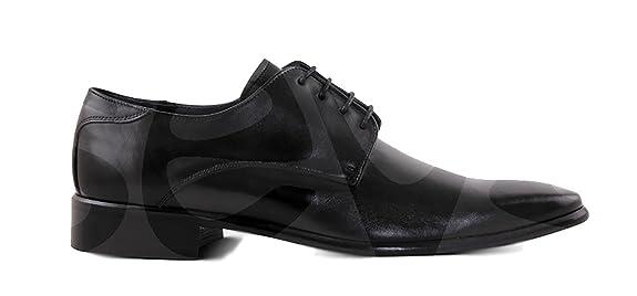 Marttely Design - 10059 - Zapato Caballero Piel - 40, Negro