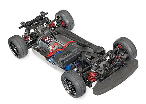 Tec Body 4 (Traxxas Automobile Electric AWD Remote Control 4-Tec 2.0 Race Car Chassis with TQ 2.4GHz radio, Size 1/10)