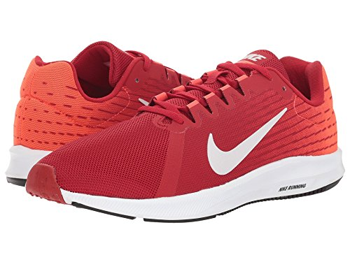 [NIKE(ナイキ)] メンズランニングシューズ?スニーカー?靴 Downshifter 8 Gym Red/Vast Grey/Bright Crimson/Black 9.5 (27.5cm) D - Medium