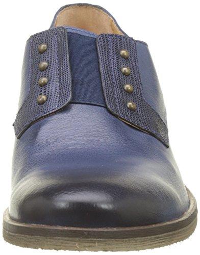 Kickers 103 Noir Derby para Cordones Low Marine Mujer de Azul Zapatos RrTvwR