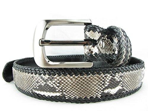 PELGIO Genuine Python Snake Skin Handmade Belt 46