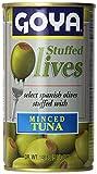 Goya Stuffed Olives Minced Tuna 5.25 Oz Can
