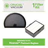 Filter Kit for Hoover Platinum Bagless Vacuums; Includes HEPA and Primary Filters; Compare to Part Nos. 38765035 & 43615096; Designed & Engineered by Think Crucial