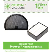 Replacement for Hoover Platinum Primary & HEPA Style Filter, Compatible With Part # 38765035 & 43615096, Washable & Reusable, by Think Crucial
