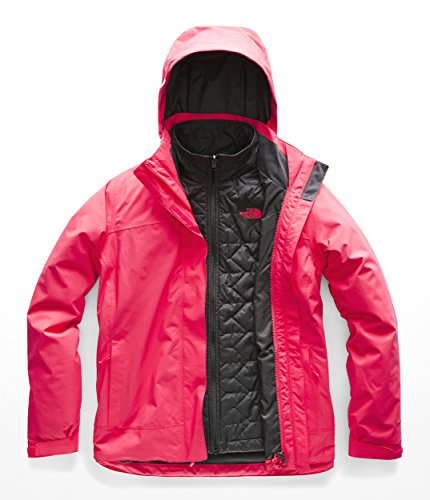 (The North Face Women's Carto Triclimate Jacket - Atomic Pink & Atomic Pink - XS)