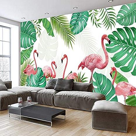 3D Wallpaper Papel Tapiz Para Pintado A Mano, Hoja De Plátano ...