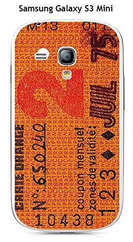 Carcasa Samsung Galaxy S3 MINI Design - Retal de tarjeta ...