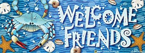 Crab Splash! Art-Snaps!® Magnetic Mailbox Art