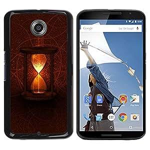 TECHCASE**Cubierta de la caja de protección la piel dura para el ** Motorola NEXUS 6 / X / Moto X Pro ** Mystical Time