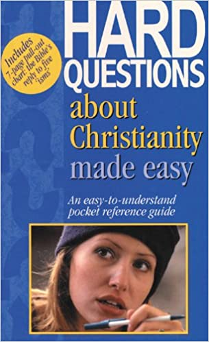Book Hard Questions about Christianity Made Easy: Pocket-Sized Bible Reference Guides